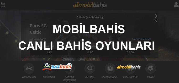Mobilbahis Canlı Bahis